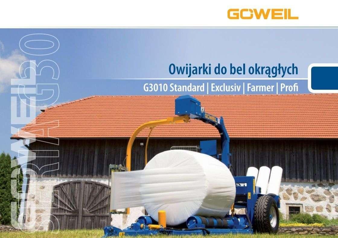 Owiharki Goweil G30 prospekt pierwsza strona