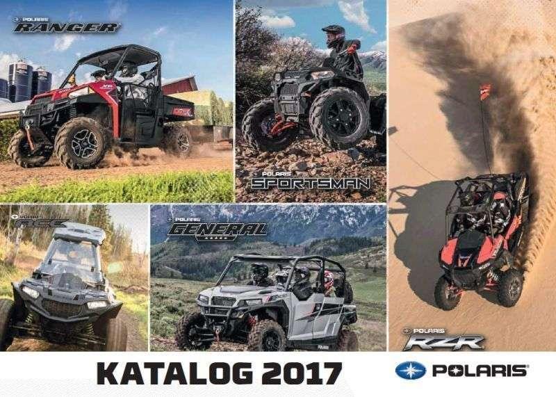 Katalog maszyn Polaris na rok 2017 Ranger Sportsman Ace RZR korbanek.pl