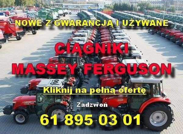Nowe i używane ciagniki Massey Ferguson na placu maszyn firmy korbanek.pl