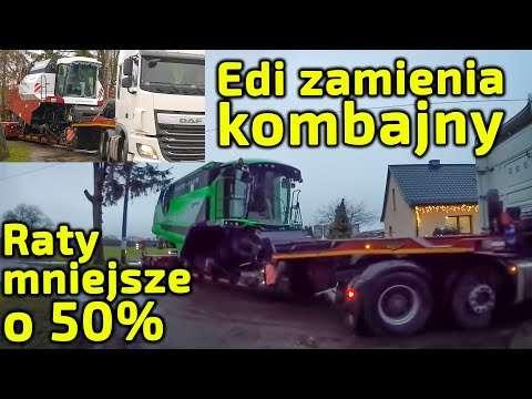 Embedded thumbnail for Edi Farmer i P. Korbanek uzgodnili zmniejszyć raty o 50% zamienić kombajn Deutz-Fahr na Rostselmash