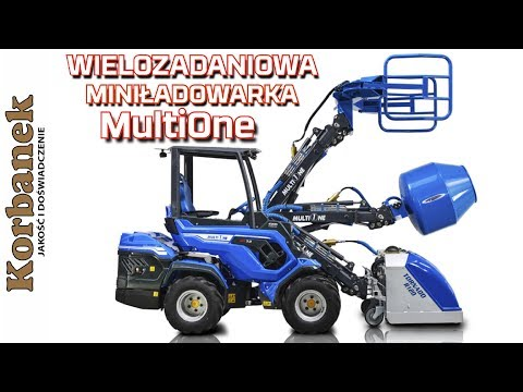 Embedded thumbnail for Wielozadaniowa Mini ładowarki MultiOne na gąsienicach
