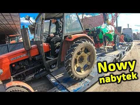 Embedded thumbnail for Czy ten Ursus C-360 będzie pracował z nowiutkim polskim opryskiwaczem?  Piciu wraca do domu?