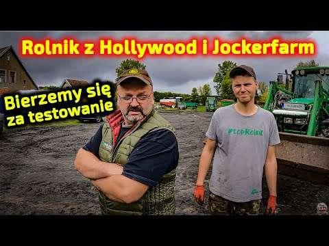 Embedded thumbnail for Rolnik z Hollywood tłumaczy dlaczego tyle maszyn  Jockerfarm się trochę śpieszy