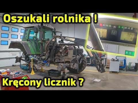 Embedded thumbnail for Oszukali rolnika! Miał mieć 12 000 mth a ma co najmniej 24 000 mth Ciągnik Fendt 714