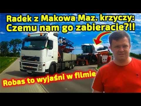 Embedded thumbnail for Zabrali kombajn z Makowa Maz. zawieźli pod Białoruską granicę Tam już na niego czekali!