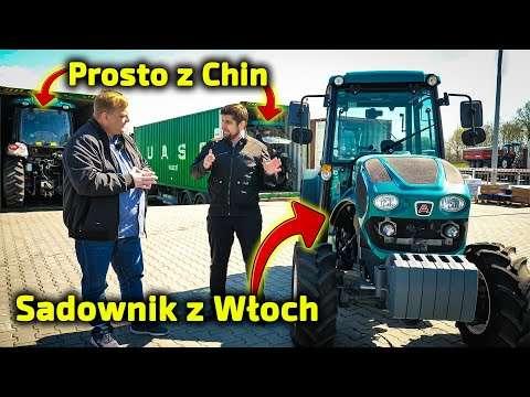 Embedded thumbnail for Przyjechały ciągniki rolnicze prosto z Chin Na rampie przywitał je włoski Arbos sadowniczy