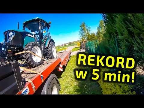 Embedded thumbnail for W 5 minut Wojtek rozładuje i przekaże każdy ciągnik Jest coraz szybszy!