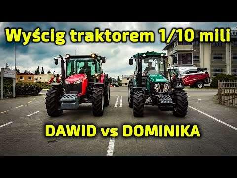 Embedded thumbnail for Wyścig 1/10 mili Arbos vs Massey Ferguson Dominika vs Dawid