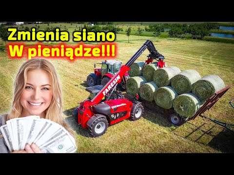 Embedded thumbnail for Zmienia SIANO na KASĘ!  Chce zarabiać na rolnictwie
