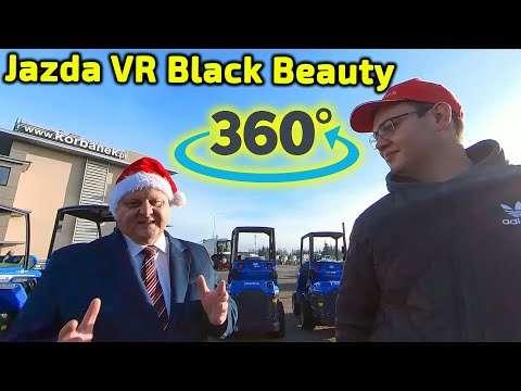 Embedded thumbnail for Oglądaj co chcesz Przeciągaj ekran komputera, obracaj smartfonem zobacz czarny ciągnik VR 360º