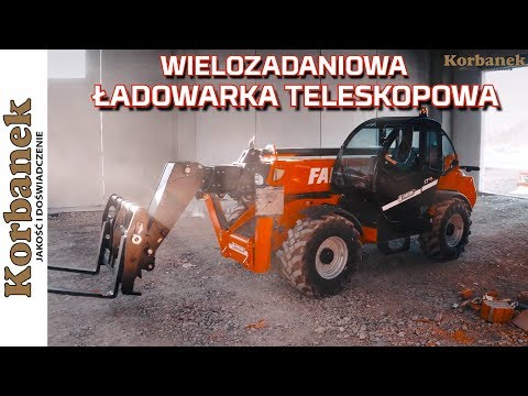Embedded thumbnail for FARESIN wielozadaniowa ŁADOWARKA TELESKOPOWA