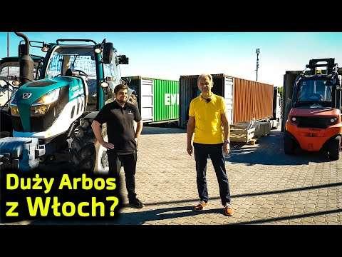 Embedded thumbnail for Czy duże Arbosy przyjechały w kontenerach?  Z jakiego kraju te ciągniki?