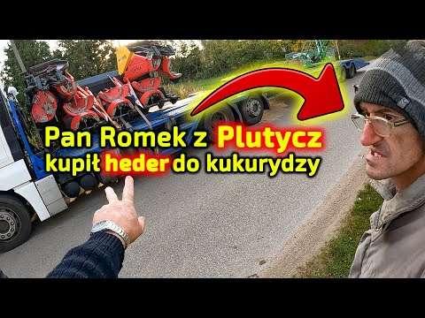 Embedded thumbnail for Podlasie. Romek z Plutycz odmówił Robertowi  Szykuje kombajn Rostselmash Vector 425 od Korbanek