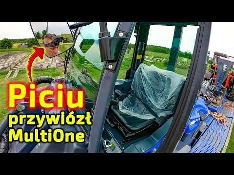 Embedded thumbnail for Piciu dostarczył ładowarkę Multione 9.5 od Korbanek do oczyszczalni ścieków Marcin rozładowuje