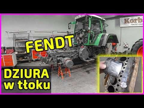 Embedded thumbnail for Dziura w tłoku ciągnik Fendt 820 nie wytrzymał obciążenia Szczęście, że nie ma dziury w bloku