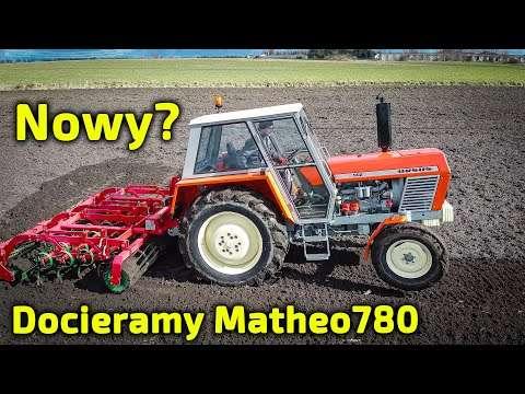 Embedded thumbnail for Ursus 902 Matheo780 po kapitalnym Czy na dotarciu może pluć olejem?