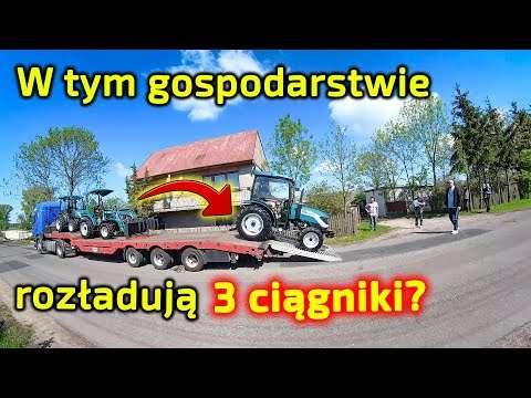 Embedded thumbnail for Kierowca Wojtek dostarcza 3 ciągniki Arbos do 1 gospodarstwa