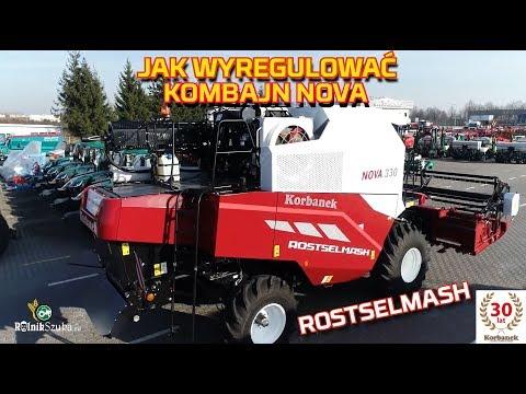 Embedded thumbnail for JAK wyregulować Rostselmash NOVA Kombajn zbożowy