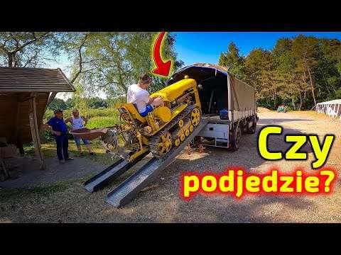 Embedded thumbnail for Niebezpieczna sytuacja Stromy podjazd i palenie na holu Bałtyk Trip Traktor (dzień #5)