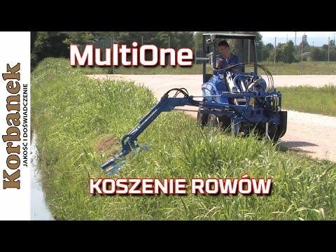 Embedded thumbnail for Kosiarka do rowów na mini ładowarce MultiOne