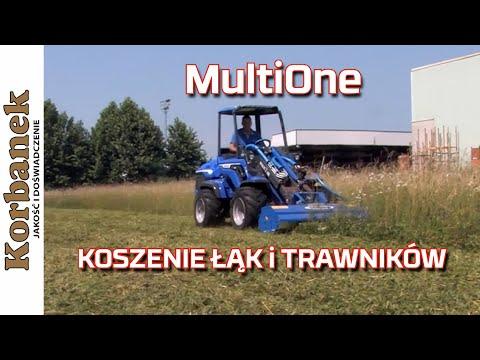 Embedded thumbnail for Kosiarka do łąk i trawników na mini ładowarce MultiOne