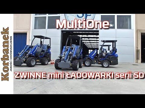 Embedded thumbnail for MultiOne seria SD łamana mini ładowarka z siedzeniem z tyłu