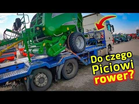 Embedded thumbnail for Kierowca Piciu dostarcza prasę McHale  Ma też ciągniki Arbos