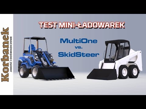 Embedded thumbnail for TEST MultiOne mini ładowarka teleskopowa vs SkidSteer
