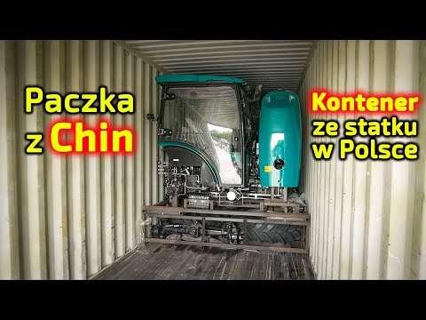 Embedded thumbnail for Paczka z ciągnikami Regularna dostawa ciągników Arbos Prezentacja okazji cenowych