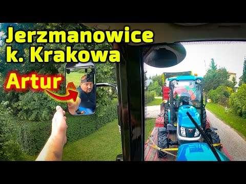Embedded thumbnail for Artur przywiózł ciągnik 30 KM Jerzmanowice k. Krakowa