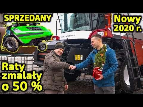 Embedded thumbnail for Raty mniejsze o połowę !! Edi Farmer sprzedał kombajn Deutz Fahr 2014 r. kupił Rostselmash 2020 r.