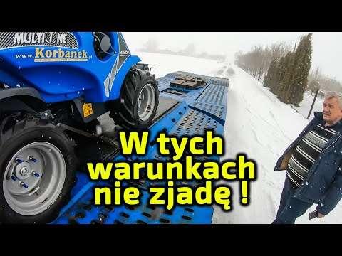 Embedded thumbnail for Piciu miał krótką ale trudną trasę był jeszcze śnieg łatwo o poślizg i wypadek!!