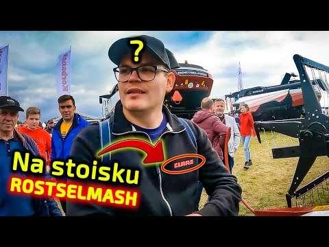 Embedded thumbnail for Dlaczego są na stoisku z kombajnami Rostselmash AGROSHOW Bednary 2021