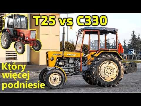 Embedded thumbnail for Ursus C-330 vs Władimiriec T25 vs nowy ciągnik Bitwa na podnoszenie ciężarów