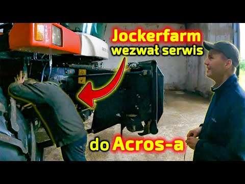Embedded thumbnail for Jockerfarm wezwał serwis do Acrosa  2 mechaników miało cały dzień pracę  zobacz co robili.