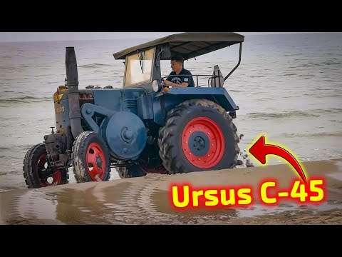 Embedded thumbnail for Najcieplejszy dzień wyprawy Ciągnik Ursus c45 Bałtyk trip traktor Korbanek