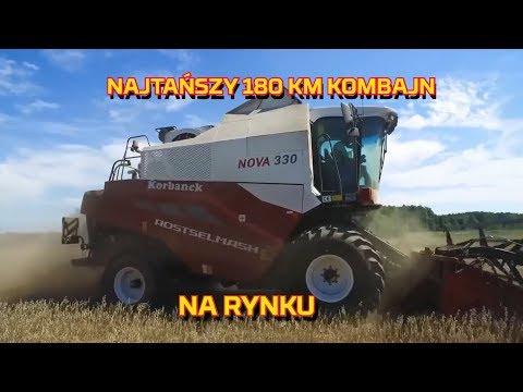 Embedded thumbnail for NAJTAŃSZY Kombajn 180 KM Rostselmash NOVA 330