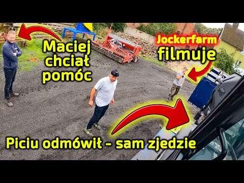 Embedded thumbnail for Piciu przyjechał do Jockerfarm-a z ładowarką Faresin 9.30 od Korbanek miesiąc czekał na publikację