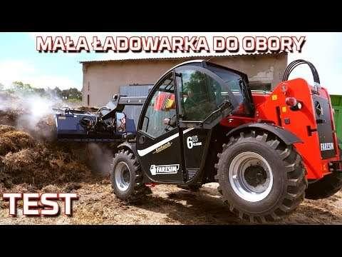 Embedded thumbnail for Faresin 6.26 MAŁA ŁADOWARKA TELESKOPOWA do obory TEST