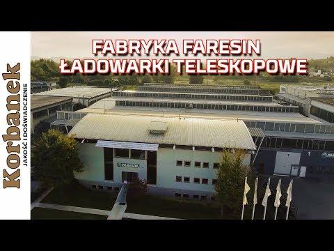 Embedded thumbnail for FARESIN ładowarki teleskopowe   FABRYKA   CZĘŚCI ZAMIENNE