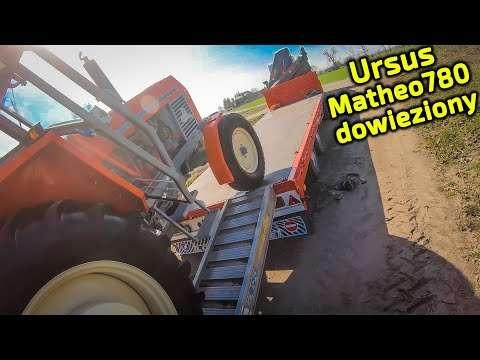 Embedded thumbnail for Ursus Matheo780 dowieziony Co będzie się dalej z nim działo?