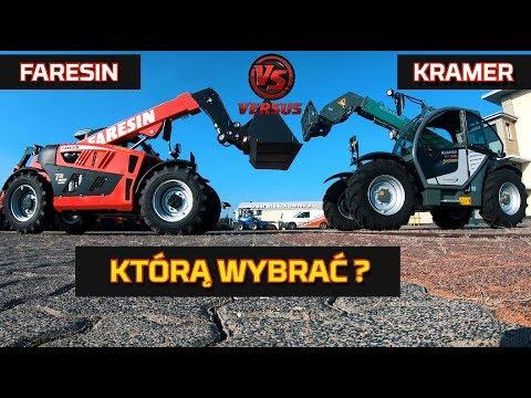 Embedded thumbnail for Faresin vs Kramer: wysokość załad. udźwig  moc silnika Ładowarka Teleskopowa Nowy Nabytek Test