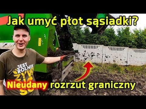 Embedded thumbnail for Jockerfarm obrzucił gnojem płot sąsiadki kombinował z rozrzutem granicznym Poznaje Bergmann-a
