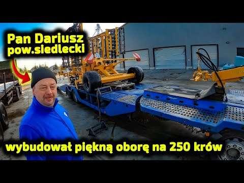 Embedded thumbnail for Przyjeżdżają z Wielkopolski oglądają moją oborę a Piciu przywiózł agregaty