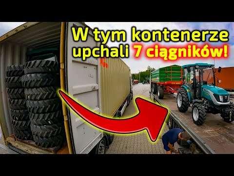 Embedded thumbnail for Jak 1 kontener zmieścił 7 ciągników Arbos!! Zwykle ładuje się po 4 sztuki