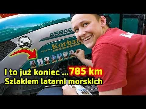 Embedded thumbnail for To już koniec rajdu Szlakiem Latarni Morskich Bałtyk Trip Traktor 8