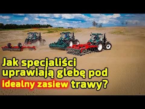 Embedded thumbnail for Rolnicy tak nie robią! Uprawa gleby pod 76 ha pola trawy Dlaczego taka technologia?
