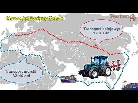 Embedded thumbnail for Nowy Jedwabny szlak z Chin działa! Kolejne Arbosy w Polsce!