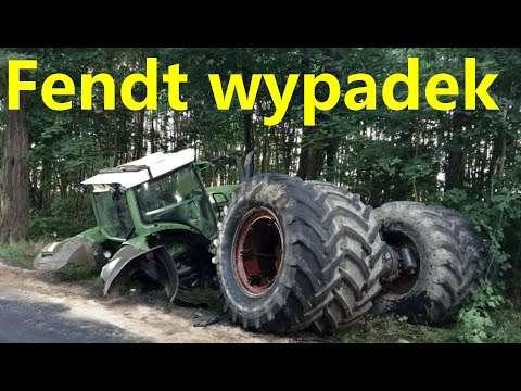Embedded thumbnail for Skutki wypadku ciągnika Fendt 820 duży koszt naprawy Kto za to zapłaci?