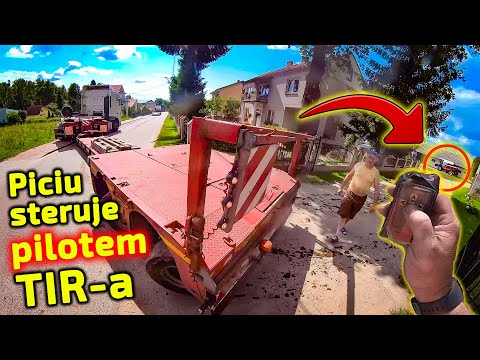 Embedded thumbnail for Piciu steruje PILOTEM swojego TIR-a W czarnej dziurze z kombajnem Nova 330